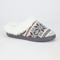 Star Snowflake Womens Slippers | Slippers
