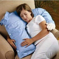 Pixnor@ Funny Boyfriend Arm Body Pillow Bed/Sofa Cushion Sky Blue