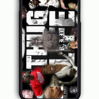 iPhone 6 Case - Hard (PC) Cover with 2pac tupac THUG LIVE Plastic Case Design