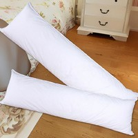 1Pc 150*50CM Hugging Long Pillow Inner White Body Cushion Pad Anime Rectangle Sleep Nap Pillow Home Bedroom Bedding Accessories