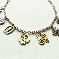 THE ADINKRA CHOKER.