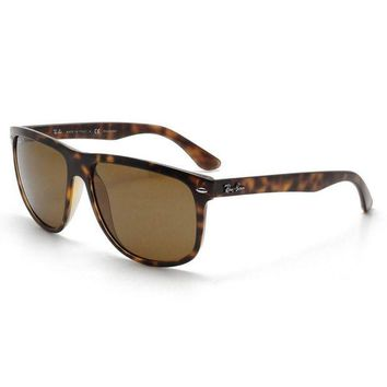 Kalete Ray Ban RB4147 710/57 Sunglasses Tortoise Polarized Brown Classic B-15 Lens 60mm