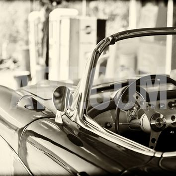 Cars - Chevrolet - Route 66 - Gas Station - Arizona - United States Photographic Print by Philippe Hugonnard at Art.com