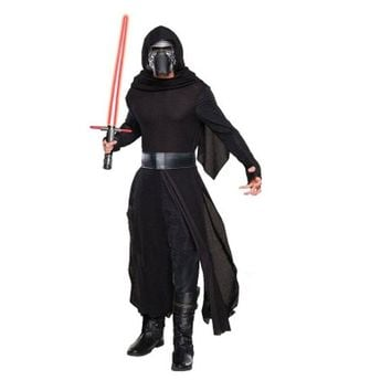 Adults Man Star Wars Kylo Ren Costume The Force Awakens Cosplay Fancy Dress Festival Carnival Party Costume