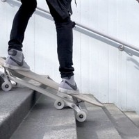 Stair-Rover: Surf the city with an innovative longboard