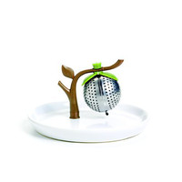 Tea Infuser w/Saucer Melon