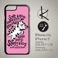 Soft Kitty Warm Kitty Phone Case - Pink - iPhone 4/4S, 5/5S, 6 and Samsung Galaxy S3,S4, S5 Choose Colours