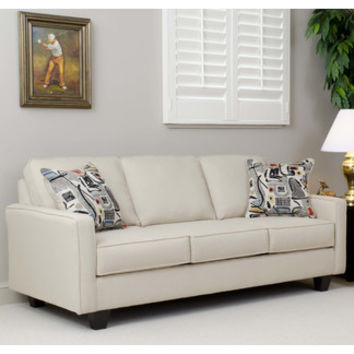 Modern Mercury Row Aries Sofa by Serta Upholstery | AllModern