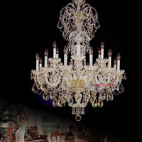 high ceiling Fashion gold crystal chandelier beads Home Decoration modern led chandelier Large Elegant modern chandeliers luxury
