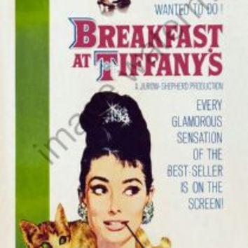 Breakfast At Tiffanys Movie Poster Insert 14x36 #01