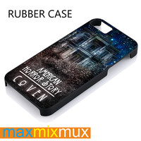 American Horror Story Coven iPhone 4/4S, 5/5S, 5C, 6/6 Plus Series Rubber Case