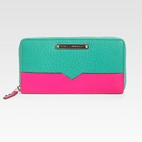 Rebecca Minkoff - Continental Colorblock Leather Wallet