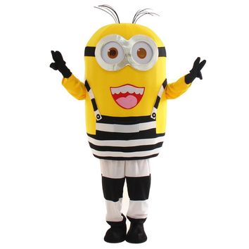 2017 New Year New Costumes cartoon mascot minion Despicable Despicable minions mascot costume