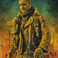 Mad Max Fury Road Art Print by FCRUZ