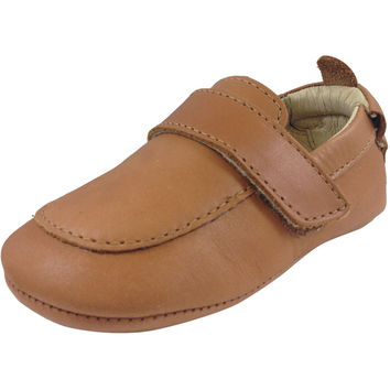Old Soles Boy's 043 Global Tan Leather Loafer Shoe