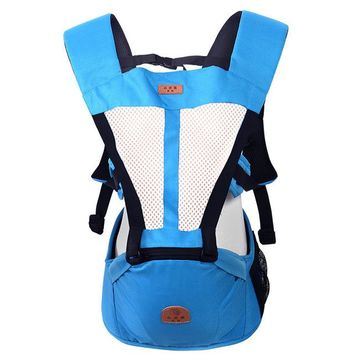 Toddler Backpack class Breathable Baby Carrier Sling Cotton Hood Toddler Kangaroo Backpack Carrier Hipseat Baby Care Activity Gear Product 0-36 Months AT_50_3