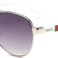 GUCCI 2018 Men's and Women's Fashion Trend Polarized Sunglasses F-ANMYJ-BCYJ NO.1