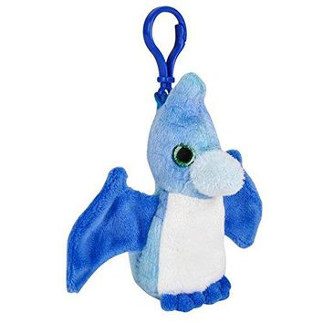 Wildlife Tree Pteranodon Plush 3.5 Inch Dinosaur Stuffed Animal Backpack Clip Toy Keychain Wildlife Hanger Party Favor Pack of 12
