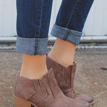 Killer Instinct Booties - Taupe