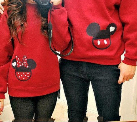 personalized matching couples mickey amp from