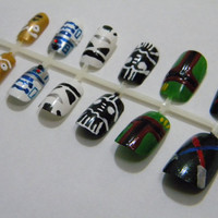Star Wars Press On Nails