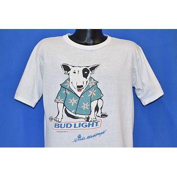 80s Bud Light Spuds Mackenzie t-shirt Large