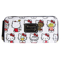 HELLO KITTY FOOD ZIP WALLET