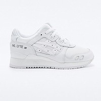 Asics Gel Lyte III Trainers in White - Urban Outfitters