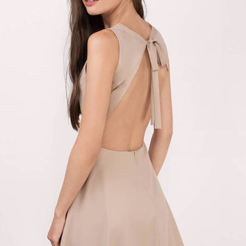 Andie Open Back Skater Dress