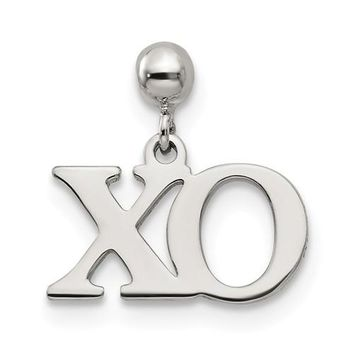 Sterling Silver Mio Memento Dangle XO Charm