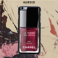 Chanel Nail Polish Malice IPhone 6 Plus Case Auroid