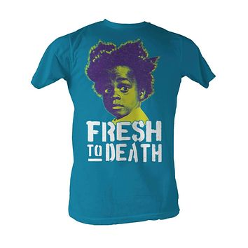 Buckwheat BUC Fresh To Death Turquoise T-shirt