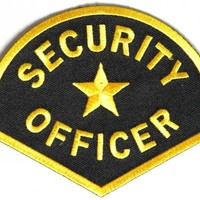 Medium size Security Officer Shoulder Patch