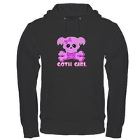 NCIS Abby Goth Hoodie (dark)> NCIS Goth Girl> The Tshirt Painter