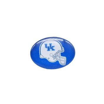 Snap Button 18mmX25mm NCAA Kentucky Wildcats Charms Interchangeable Buttons Bracelet Basketball Fans Gift Paty Birthday 2017