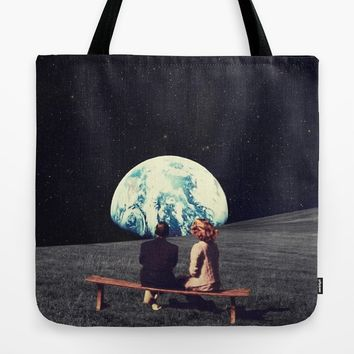We Used To Live There Tote Bag by frankmoth