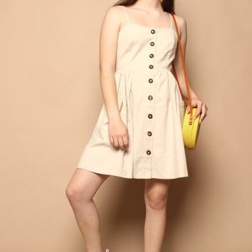 Billie Button Sundress