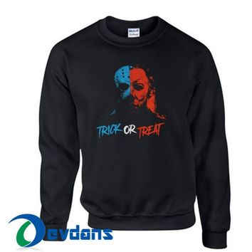 Trick Or Treat Sweatshirt Unisex Adult Size S to 3XL
