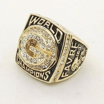 Super Bowl 1996 Green Bay Packers fashion Custom Sports Men World Championship Ring