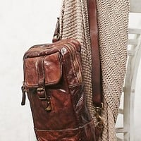 Campomaggi Womens Positano Distressed Backpack