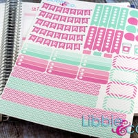 May Planner Kit Life Planner Die-Cut Stickers! Set of 151 Perfect for the Erin Condren Planner!!!!