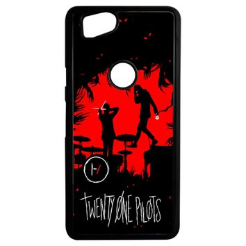 Twenty One Pilots Poster Google Pixel 2 Case