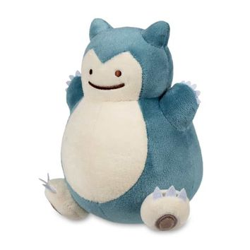 Ditto As Snorlax Poké Plush (Standard) - 6 1/4""