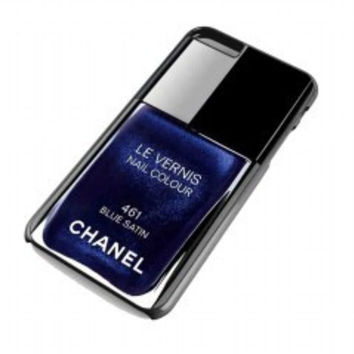 Chanel Nail Polish Blue Satin for iphone 6 plus case