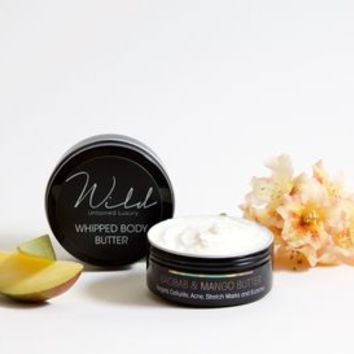 Whipped Body Butter With Baobab And Mango Butter