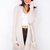 Wooly+Knit+Cardigan