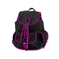3 Pocket Backpack, Black Pink | Journeys Shoes