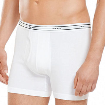 Jockey Low-Rise Knit Boxer Briefs