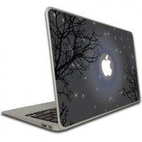 MacBook Air MacBook Pro -13-Inches Vinyl, Removable Skin - Apple Night Sky:Amazon:Computers & Accessories
