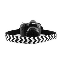 Chevron Navy 1.5In Camera Strap - Capturing Couture - CASLR15-CVNV